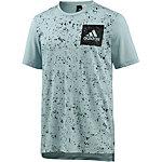 adidas SID AOP T-Shirt Herren blau