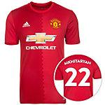 adidas Manchester United 16/17 Heim Mkhitaryan Fußballtrikot Herren rot / weiß