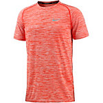 Nike Dri-Fit Knit Laufshirt Herren orange