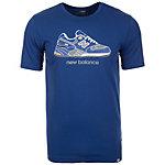 NEW BALANCE Trip 9S T-Shirt Herren dunkelblau