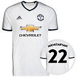 adidas Manchester United 16/17 3rd Mkhitaryan Fußballtrikot Herren weiß / grau