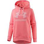 Under Armour Favorite Fleece Fleecehoodie Damen rot/melange