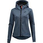 Nike Tech Fleece Kapuzenjacke Damen blau
