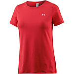 Under Armour Heatgear T-Shirt Damen rot