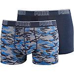 PUMA Boxer Herren dunkelblau/camouflage