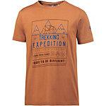 OCK T-Shirt Herren braun