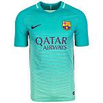 Nike FC Barcelona 16/17 3rd Fußballtrikot Herren grün / schwarz