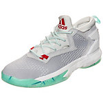 adidas Damian Lillard 2.0 Primeknit Basketballschuhe Herren grau / mint / weiß