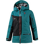 SCOTT Vertic 3L Snowboardjacke Damen grün/schwarz