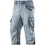 TIMEZONE Miles 3/4-Jeans Herren light blue denim
