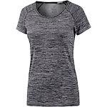 Nike Dri-Fit Knit Laufshirt Damen schwarz