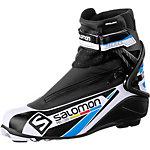 Salomon Pro Combi Pro Link Langlaufschuhe schwarz/weiß