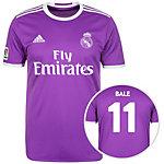 adidas Real Madrid 16/17 Auswärts Bale Fußballtrikot Herren lila / weiß