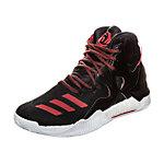 adidas Derrick Rose 7 Basketballschuhe Kinder schwarz / rot