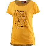 OCK Printshirt Damen gelb