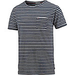 Tommy Hilfiger T-Shirt Herren dunkelblau/weiß