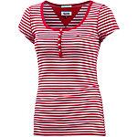 Tommy Hilfiger T-Shirt Damen rot/weiß