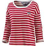 Tommy Hilfiger Sweatshirt Damen rot/weiß