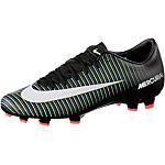 Nike MERCURIAL VICTORY VI FG Fußballschuhe Herren schwarz/grün