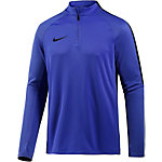 Nike Squad Funktionsshirt Herren blau/schwarz