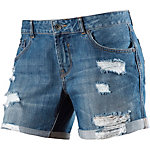Superdry Jeansshorts Damen destroyed denim