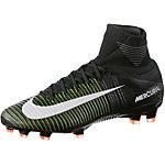 Nike MERCURIAL SUPERFLY V FG Fußballschuhe Herren schwarz/grün