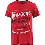 TIMEZONE T-Shirt Herren rot