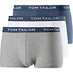 TOM TAILOR Boxer Herren weiß/grau/blau