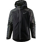 Nike Shield Flash Laufjacke Herren schwarz