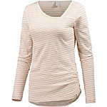 iriedaily Asym Stripe 4 Langarmshirt Damen offwhite/bunt