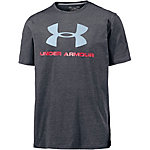 Under Armour Heatgear Charged Cotton T-Shirt Herren schwarz