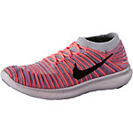 Nike Free Run Motion Laufschuhe Damen orange/blau