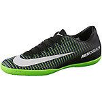 Nike MERCURIALX VICTORY VI IC Fußballschuhe Herren schwarz/grün