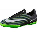 Nike JR MERCURIALX VAPOR XI IC Fußballschuhe Kinder schwarz/grün