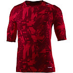 adidas Tech Fit Base Kompressionsshirt Herren rot