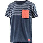 Mazine T-Shirt Herren blau/weiß