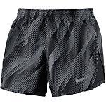 Nike Modern Tempo Laufshorts Damen schwarz/grau