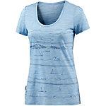 Icebreaker Tech Lite Funktionsshirt Damen blau