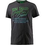 TOM TAILOR T-Shirt Herren dunkelgrau