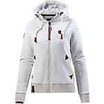 Naketano Every World Knows it II Sweatjacke Damen grau melange