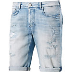 M.O.D Cornell Jeansshorts Herren destroyed denim