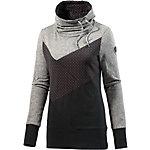 Ragwear Funktionssweatshirt Damen schwarz/grau