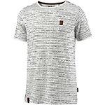 Naketano Hosenpuper VIII T-Shirt Herren offwhite gestreift