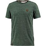 Naketano Hosenpuper VIII T-Shirt Herren grün gestreift