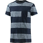 TOM TAILOR T-Shirt Herren navy/weiß