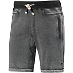 Khujo Shorts Herren anthrazit washed