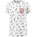 Khujo Printshirt Herren offwhite