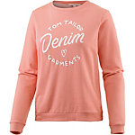 TOM TAILOR Sweatshirt Damen rosa
