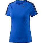 adidas D2M T-Shirt Damen blau