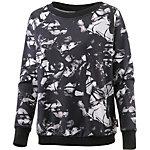 Reebok Faves Sweatshirt Damen schwarz/weiß